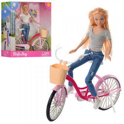 Defa Lucy Кукла с велосипедом, Серые