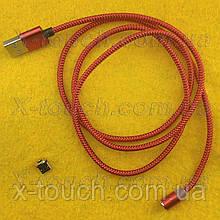 USB - Micro USB-кабель плоский 1 м, Шнур micro usb 2.0 для Bravis ( колір чорний )