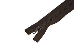 Zipper Спиральная молния, без фиксатора коричневая,50см.,1бегунок