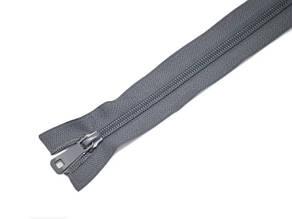 Zipper Спиральная молния, Темно-серый,100см.2бегунка