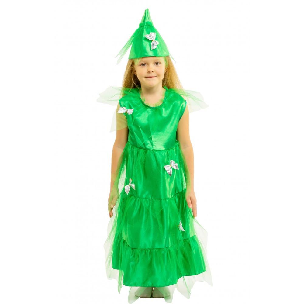 Маскарадный костюм Елочки для девочки