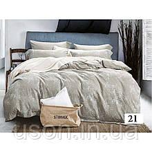Комплект  постельного белья Wash Jacquard (Вареный хлопок) ТМ Tiare 21