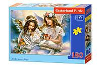 "Пазлы Castorland ""Два Ангела"" - 180 элементов."