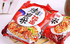 Лапша быстрого приготовления Кимчи Рамен Nongshim 120 г, фото 2