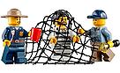 """Конструктор BELA CITIES """"Полицейский участок в горах"""" 705 деталей , фото 5"""