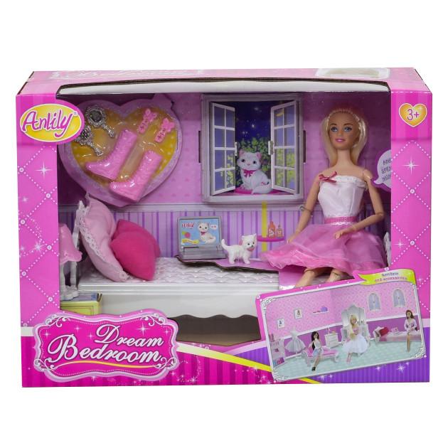 """Набор с куклой Anlily и мебелью """"Комната мечты"""" (99051)"""