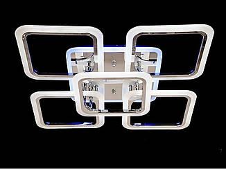 Люстра светодиодная потолочная с подсветкой A8060/4+1HR Люстра Led
