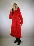 Длинное женское пальто, фото 2