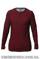 Свитер мужской LE GUTTI 20-807-31 бордовый, фото 1