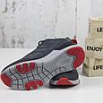Стильные мужские замшевые кроссовки BaaS серые Повседневные мужские кроссовки из замши размер 41 - 46, фото 6