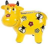 Скарбничка Корова жовта. Символ 2021 року