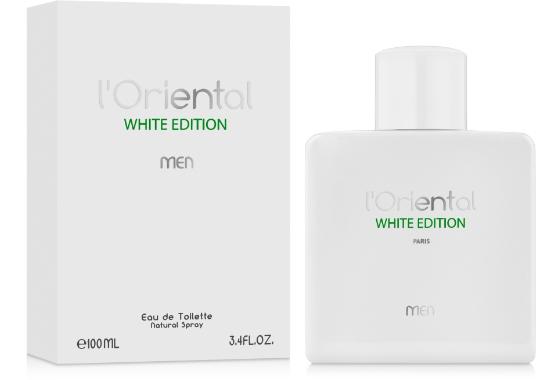 Estelle Ewen L'Oriental White Edition Men Туалетная вода мужская, 100 мл