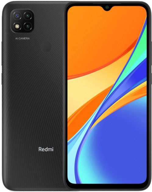 "Xiaomi Redmi 9C 3/64Gb Grey 6.53"" 5020мАч, NFC, Helio G35, ЕВРОПА смартфон ксяоми редми 9с"