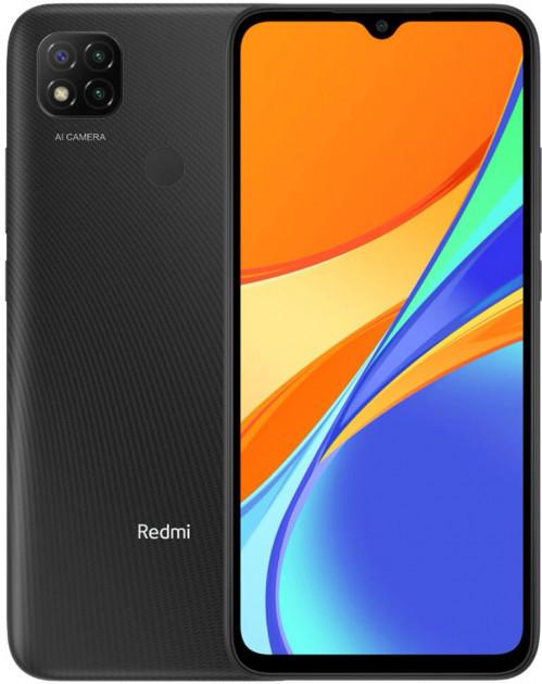 "Xiaomi Redmi 9C 2/32Gb Grey 6.53"" 5020мАч, NFC, Helio G35, ЕВРОПА смартфон ксяоми редми 9с"