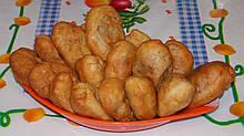 Пирожки с печенкой и гречкой по 5кг. в ящике