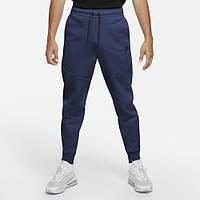 Штаны спортивные мужские NIKE M NSW TCH FLC JGGR синие