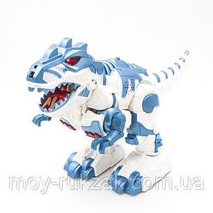 Радиоуправляемый интерактивный Робот-трансформер Динозавр, световые и звуковые эффекты, 6028, фото 2