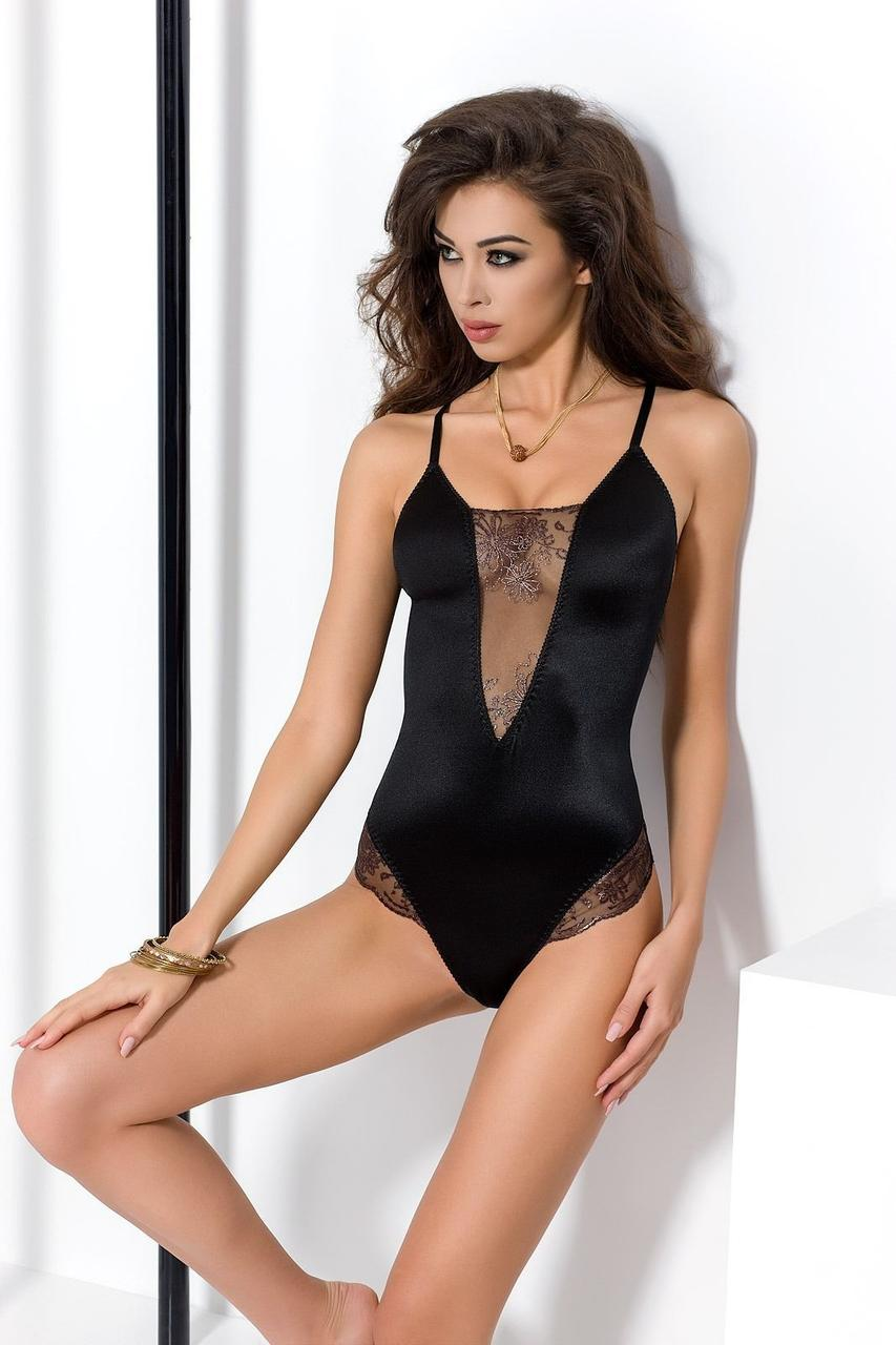 Боди BRIDA BODY black L/XL - Passion Exclusive