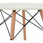 Столик кухонный обеденный Bonro В-957-600 60х72 см стол круглый для кухни, фото 5