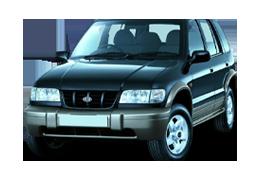 Дефлекторы на боковые стекла (Ветровики) для Kia (Киа) Sportage 1 (NB) 1993-2006