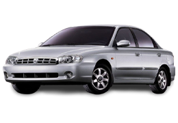 Дефлекторы на боковые стекла (Ветровики) для Kia (Киа) Sephia 1992-1998