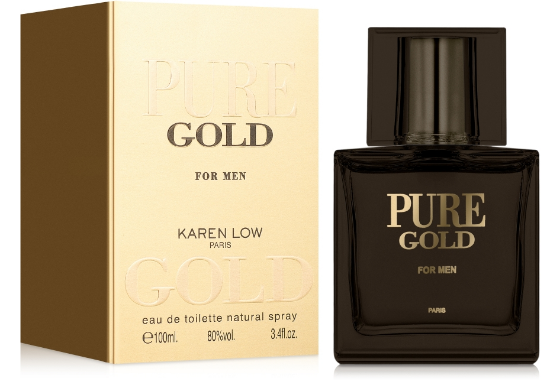 Karen Low Pure Gold Туалетная вода мужская, 100 мл