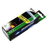 Набор мячей для настольного тенниса 3 штуки DONIC MT-608318 ELITE 1star, фото 3