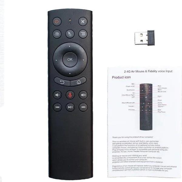 Пульт Air mouse G20s гироскоп + голосовое управление