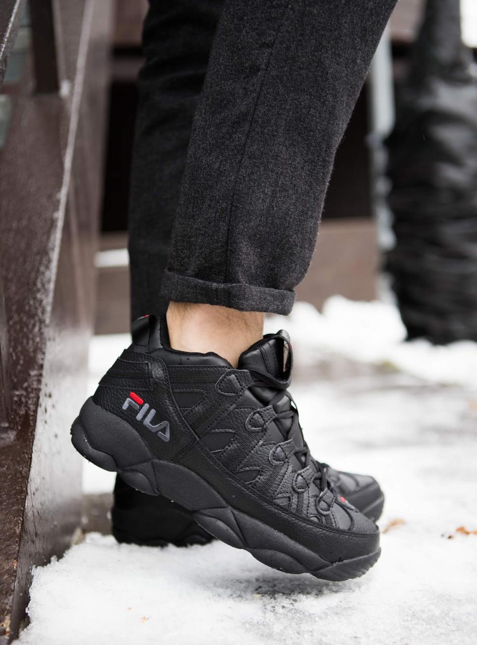 Мужские ботинки Рэй Pobedov (черные)