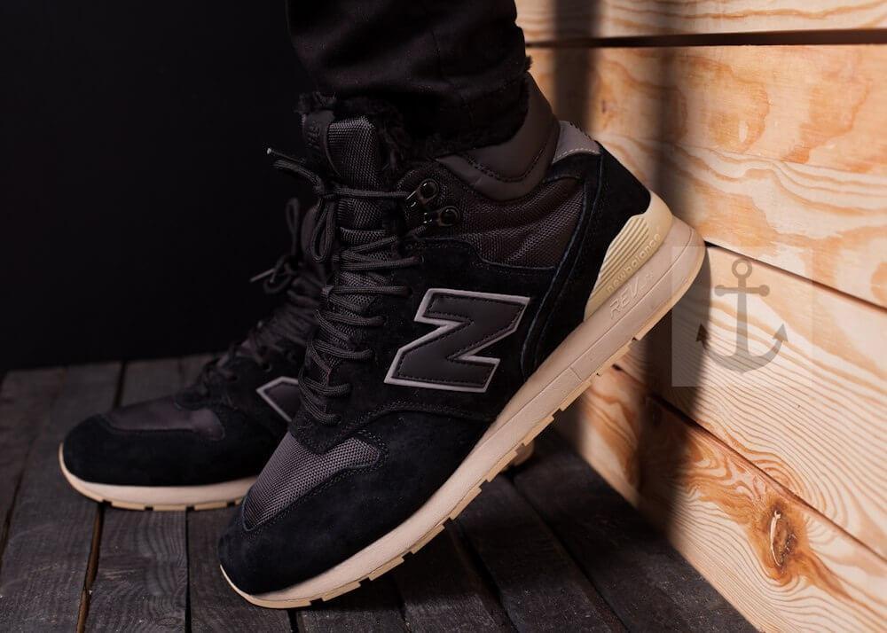 Мужские ботинки 696 Pobedov (черные)