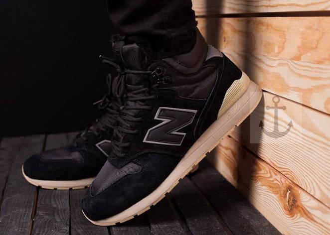 Мужские ботинки 696 Pobedov (черные), фото 2
