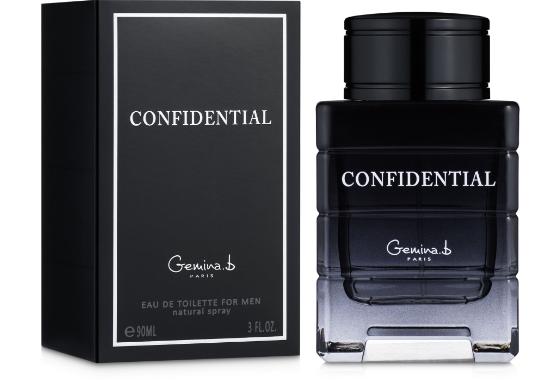 Geparlys Gemina B. Confidential Туалетная вода мужская, 90 мл