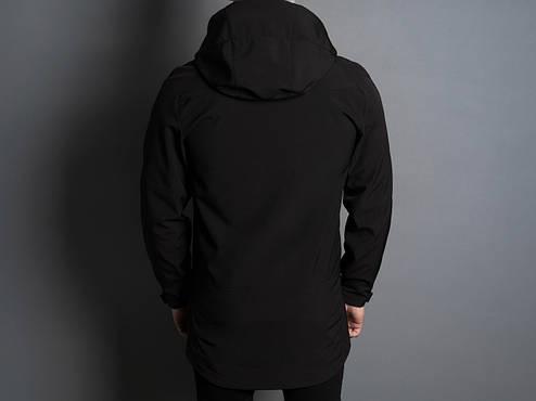 Мужская куртка Darkness Pobedov (черная), фото 2
