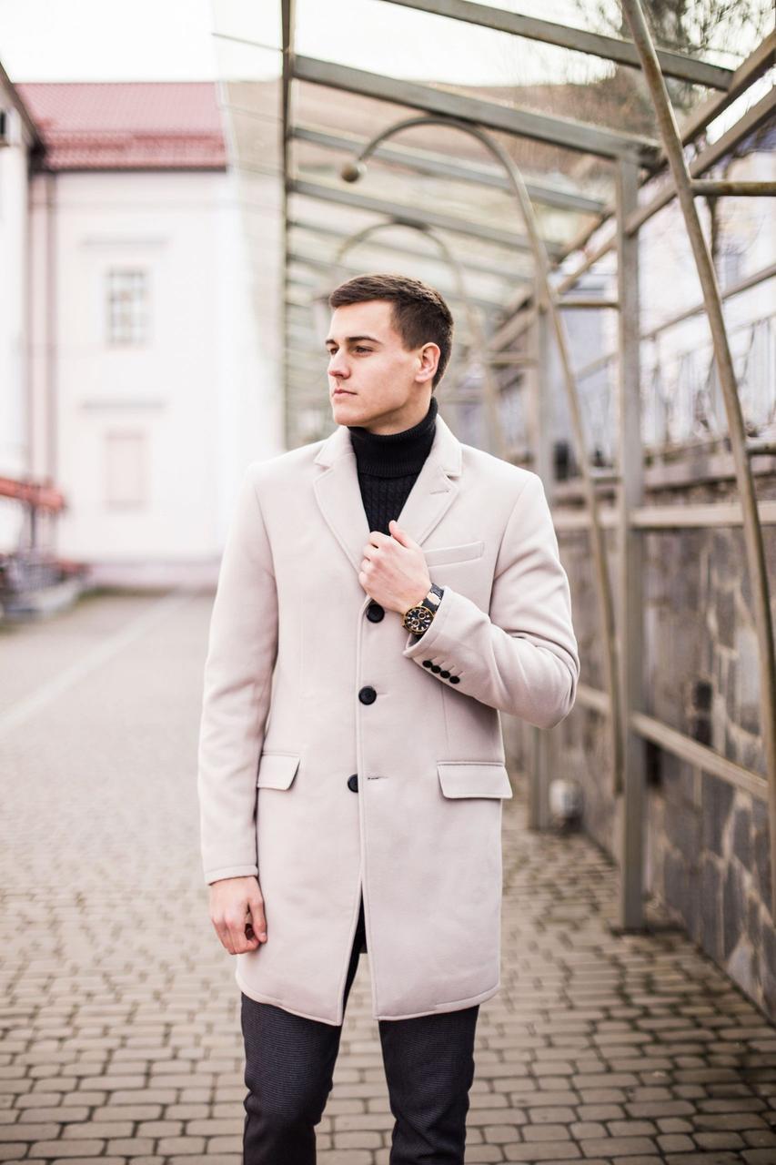 Мужское пальто BATYA Pobedov (бежевое)