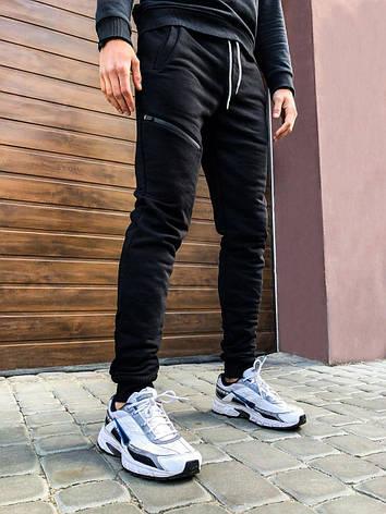 Мужские штаны Arnold Pobedov (черные), фото 2