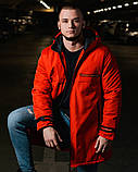 Куртка Prada с синтепоном (унисекс), осенняя куртка прадо, осіння куртка Prada, весенняя куртка прада парка, фото 4