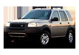 Дефлекторы на боковые стекла (Ветровики) для Land Rover (Лэнд Ровер) Freelander I 1998-2006