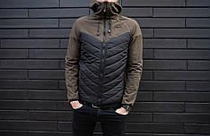 Куртка Soft Shell combi V2 Pobedov (вставка хаки)