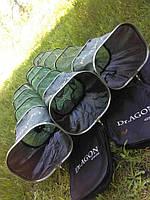 Садок для рыбалки рыбы Dr.Agon 3 м прорезиненный сумка в комплекте