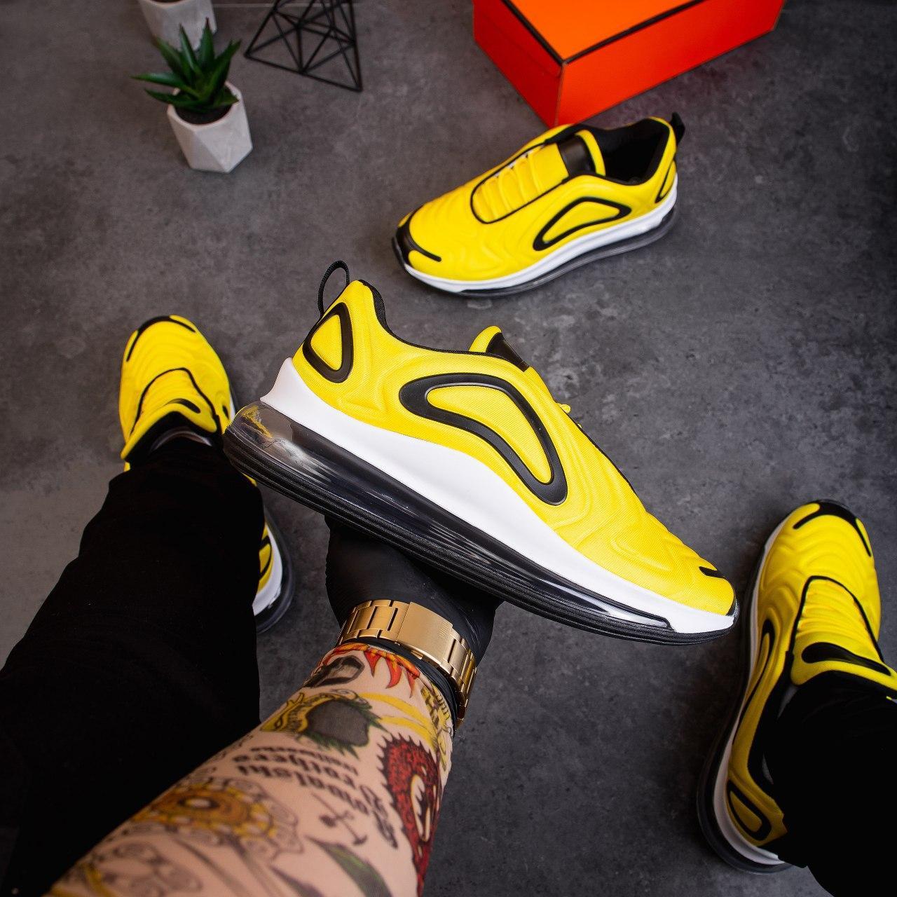 Мужские кроссовки Ривал Арт 720 Pobedov (желтые)