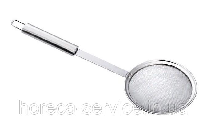 Шумовка нержавеющая крупная сетка L 330 мм (шт)