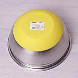Миска з нержавіючої сталі 22 см Kamille KM-2210, фото 3