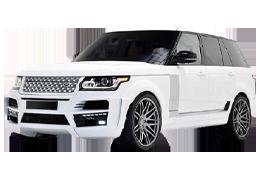Дефлекторы на боковые стекла (Ветровики) для Land Rover (Лэнд Ровер) Range Rover Vogue `02-13+