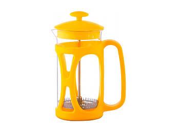 Жовтий френч-прес Con Brio 350мл