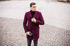 Мужское пальто BATYA Pobedov (бордовый)