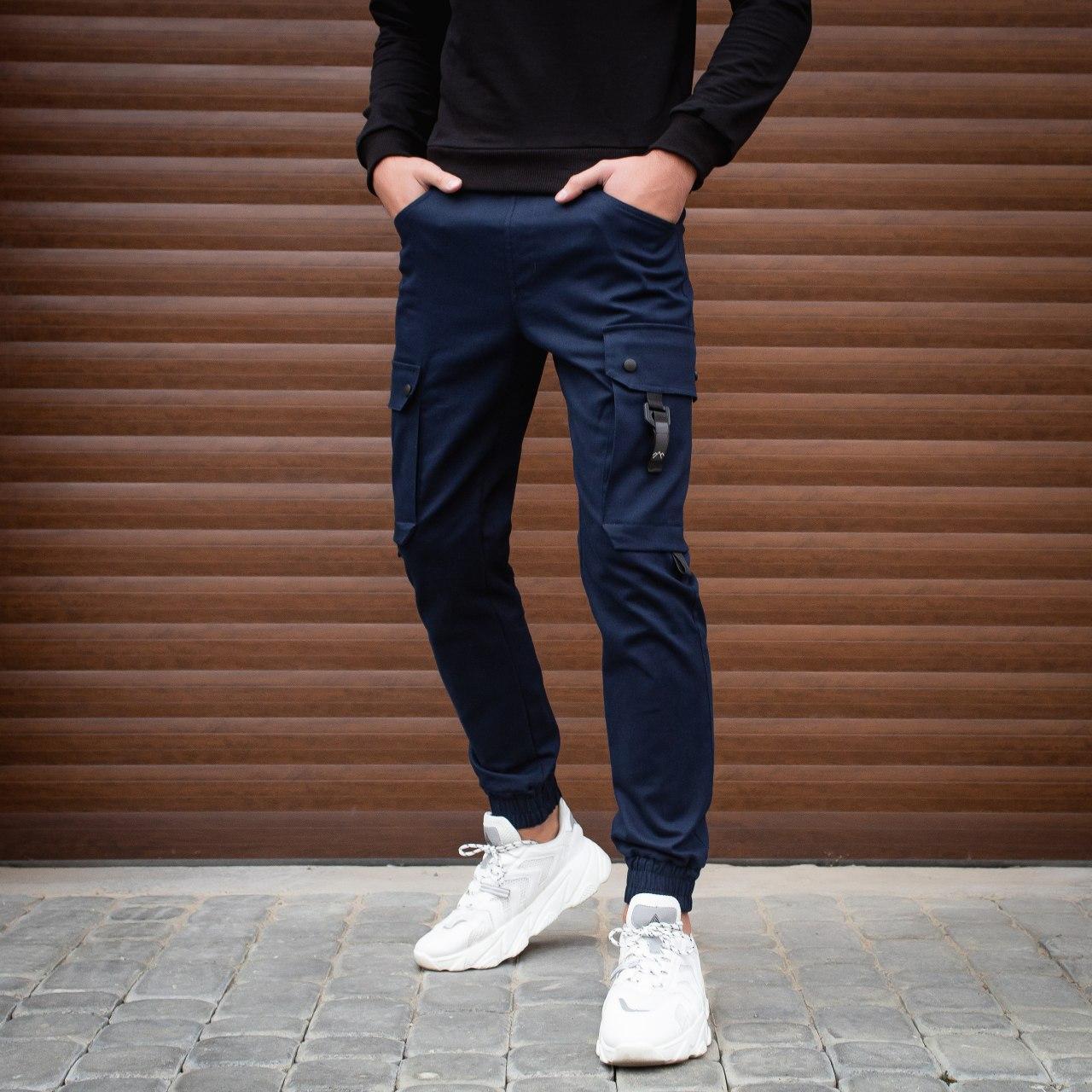Мужские штаны Everest Pobedov (синие)