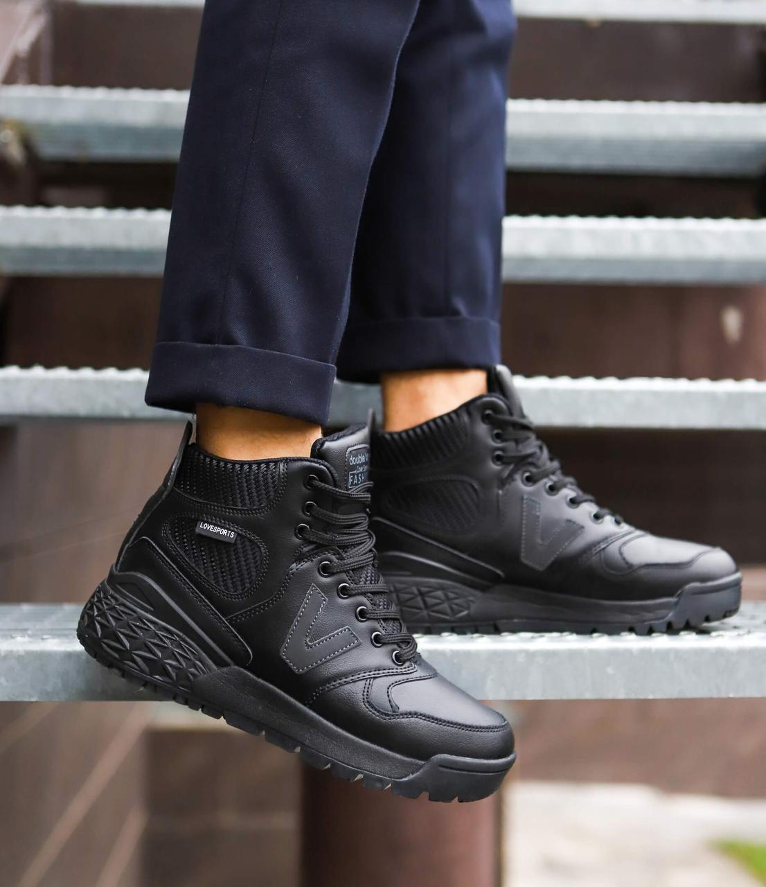 Мужские ботинки Вегас Pobedov (черные)