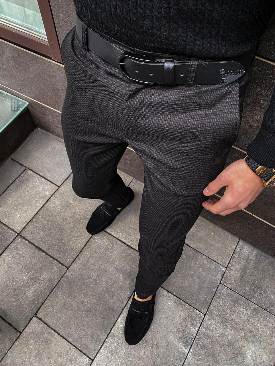 Мужские штаны 100% Pobedov (темный хаки)