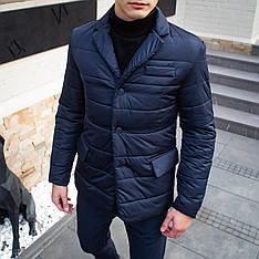 Мужская куртка-пиджак Dollar Bill Pobedov (синяя)