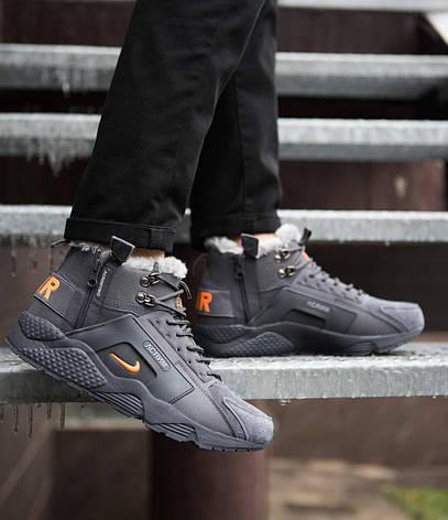 Мужские ботинки Хуарейч Акроним Pobedov (серые), фото 2